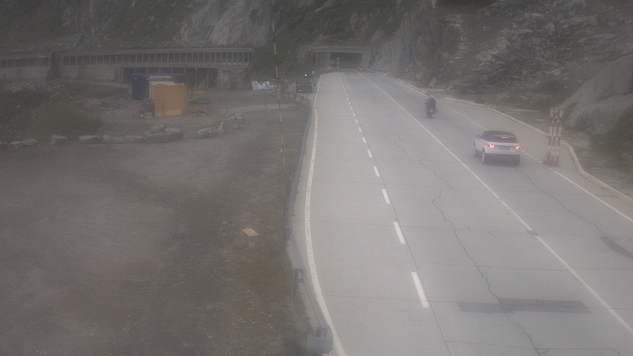 Webcam Gotthardpass Galleria Banchi