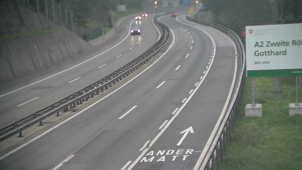 Webcam Gotthardtunnel