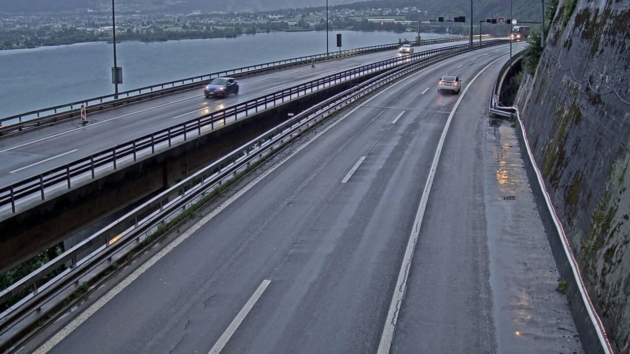 Seelisbergtunnel Zuid en Noorden